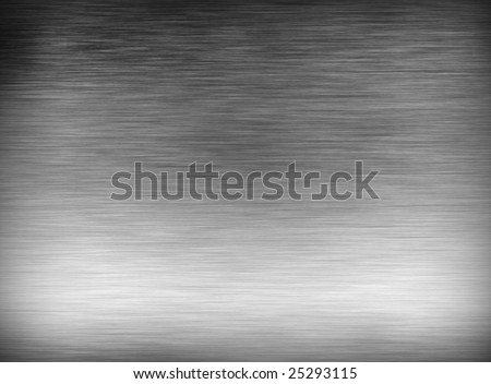 brushed metal fine background texture - stock photo