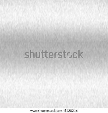 Brushed Metal Steel - stock photo