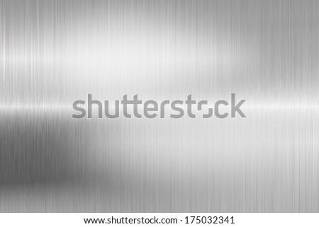 brushed metal structure closeup - stock photo