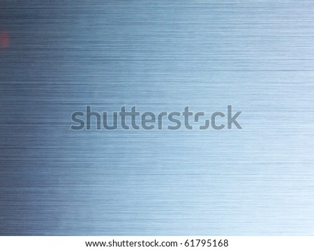 Brushed metal texture - stock photo