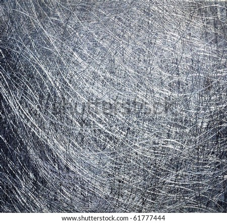 Brushed metal texture. Hi res. - stock photo