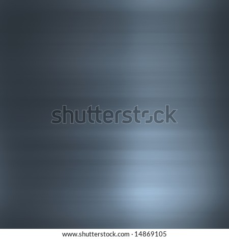 Brushed smooth glossy metal surface texture background illustration - stock photo