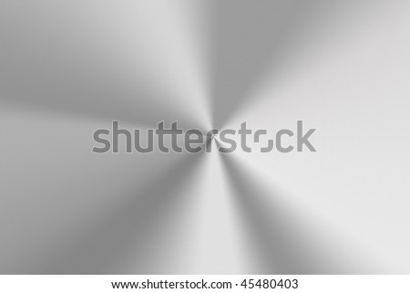 Brushed steel background.
