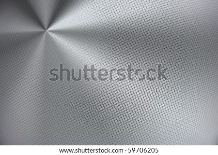 Brushed steel background. Blank canvas for copy - stock photo