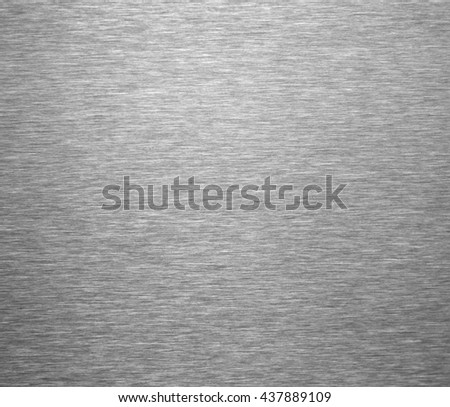 Brushed steel metal background - stock photo