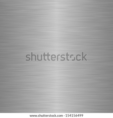 Brushed steel or metal as background - stock photo