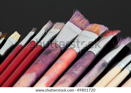 Brushes for drawing