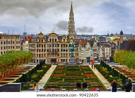 Brussels - stock photo