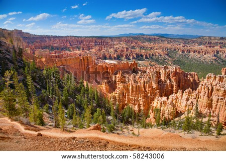 Bryce Canyon - stock photo