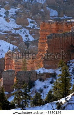 Bryce Canyon Glow - stock photo