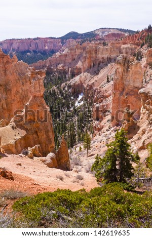 Bryce Canyon Nation Park Scenery