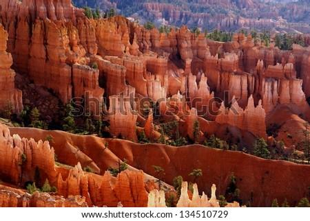 Bryce Canyon National Park - stock photo
