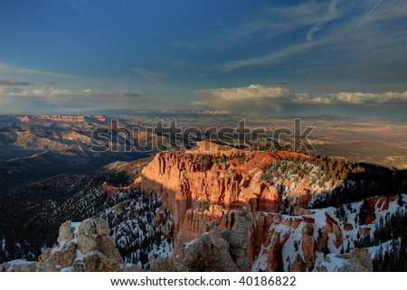 Bryce Canyon National Park - stock photo