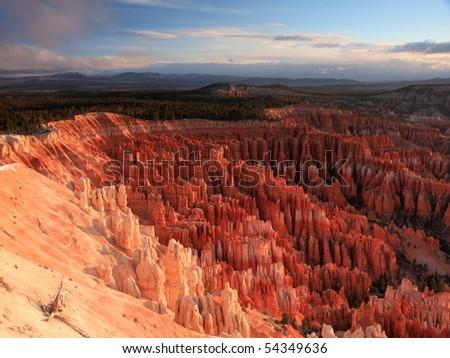 Bryce Canyon National Park at early morning, Utah , USA - stock photo