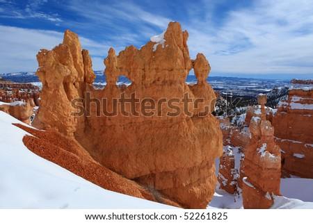 Bryce Canyon national park panorama, Utah, USA - stock photo