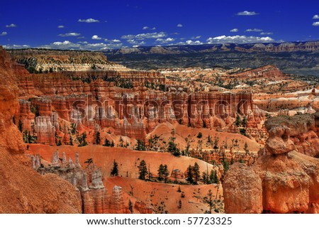 Bryce Canyon National Park - Utah - stock photo