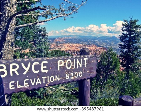 Bryce Canyon National Park, Utah, United States - stock photo