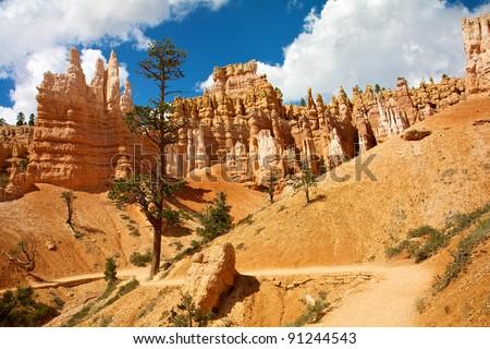 Bryce Canyon National Park Utah USA - stock photo