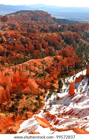 Bryce Canyon view from Rim Trail
