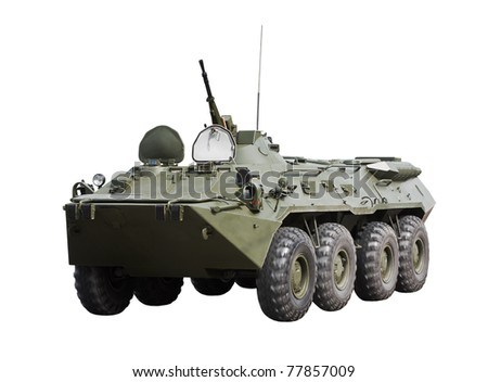 BTR-90 armored personnel Carrere - stock photo