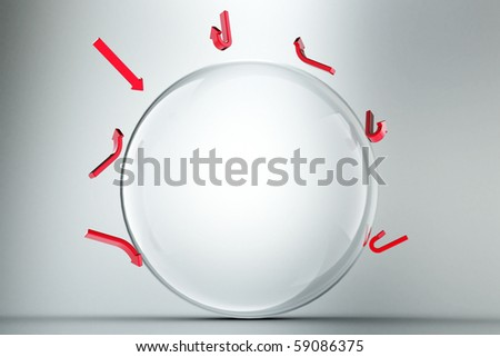 bubble - stock photo