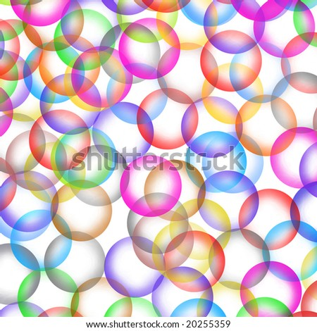 Bubble background - stock photo