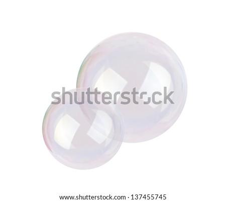 bubble blower isolated on white background - stock photo