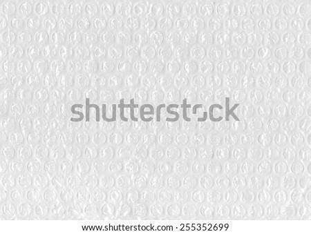 bubble wrap texture - stock photo
