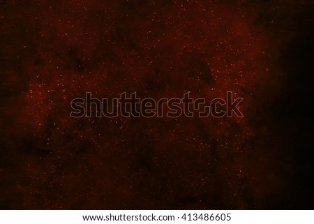 Bubbles floating in the liquid dark drink, abstract image. - stock photo