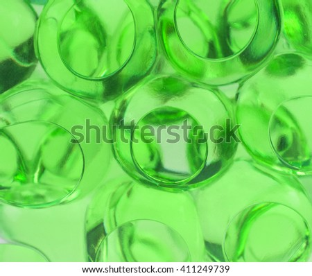 bubbles in a liquid. Abstract background. Macro - stock photo