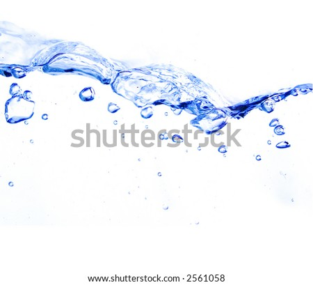 bubbles water