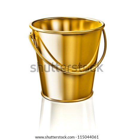 Bucket - stock photo