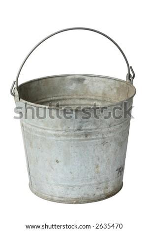 Bucket - stock photo