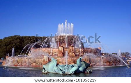 Buckingham Fountain - stock photo