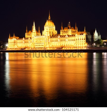 Budapest - Hungarian parliament