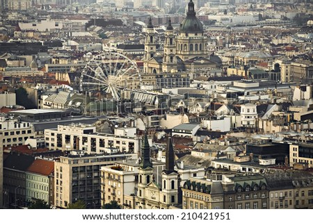 Budapest, Hungary's capital city - stock photo
