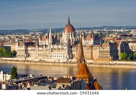 Budapest panorama 12. - stock photo