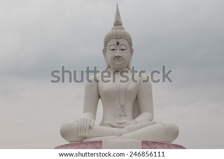 buddha in Thai temple
