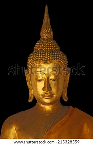 Buddha is the Buddhist divinity that respect.