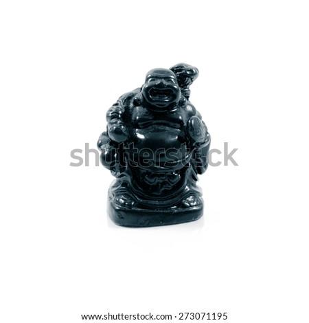 Buddha  isolated on white background - stock photo