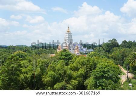 Buddha Mountain at pattaya - stock photo