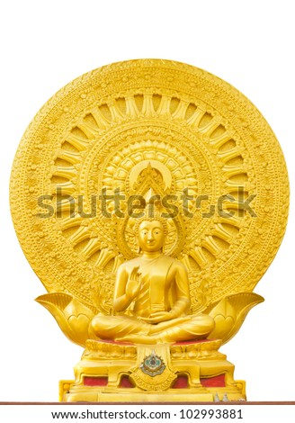 Buddha of thailand - stock photo