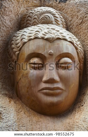 Buddha Old Carving