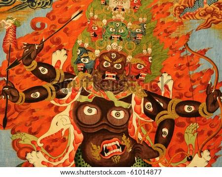 buddha picture - stock photo