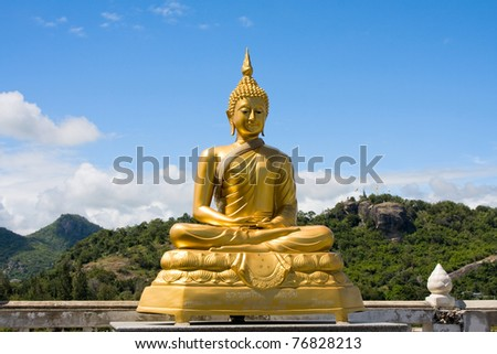 Buddha sculpture in Thailand