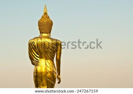 Buddha, thailand. - stock photo