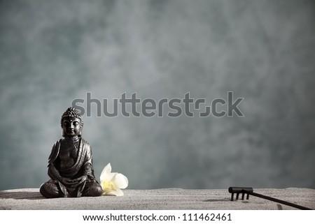 Buddha Zen,Religious concept. - stock photo
