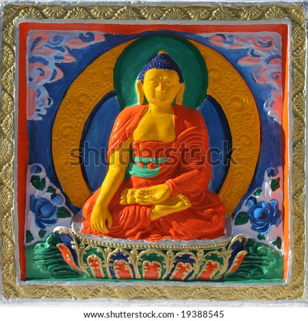 Buddhism - stock photo