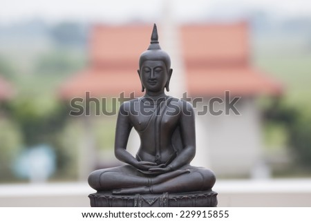 Buddhist state in Thailand - stock photo