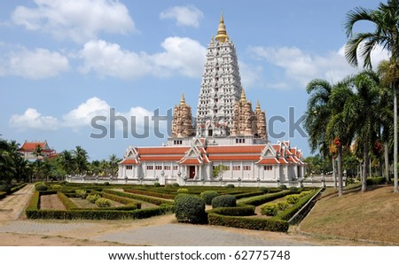 Buddish temple. Thailand - stock photo